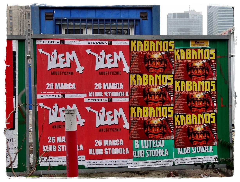 Plakaty Muzyczne Warszawy 2015 Street Art Festival