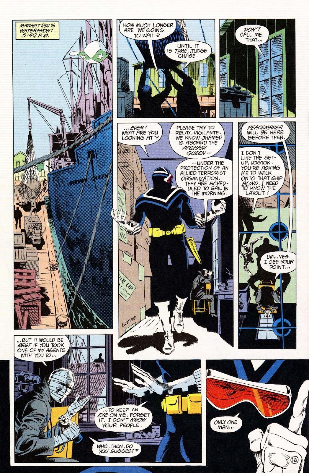 Vigilante (1983) issue 37 - Page 18