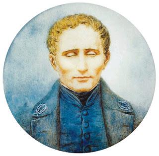 Louis Braille - ( 1809 జనవరి 4-1852 జనవరి 6  ) - అంధులకు వెలుగు లూయీ బ్రెయిలీ