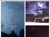 Penampakan UFO Saat Badai Gemparkan Houston