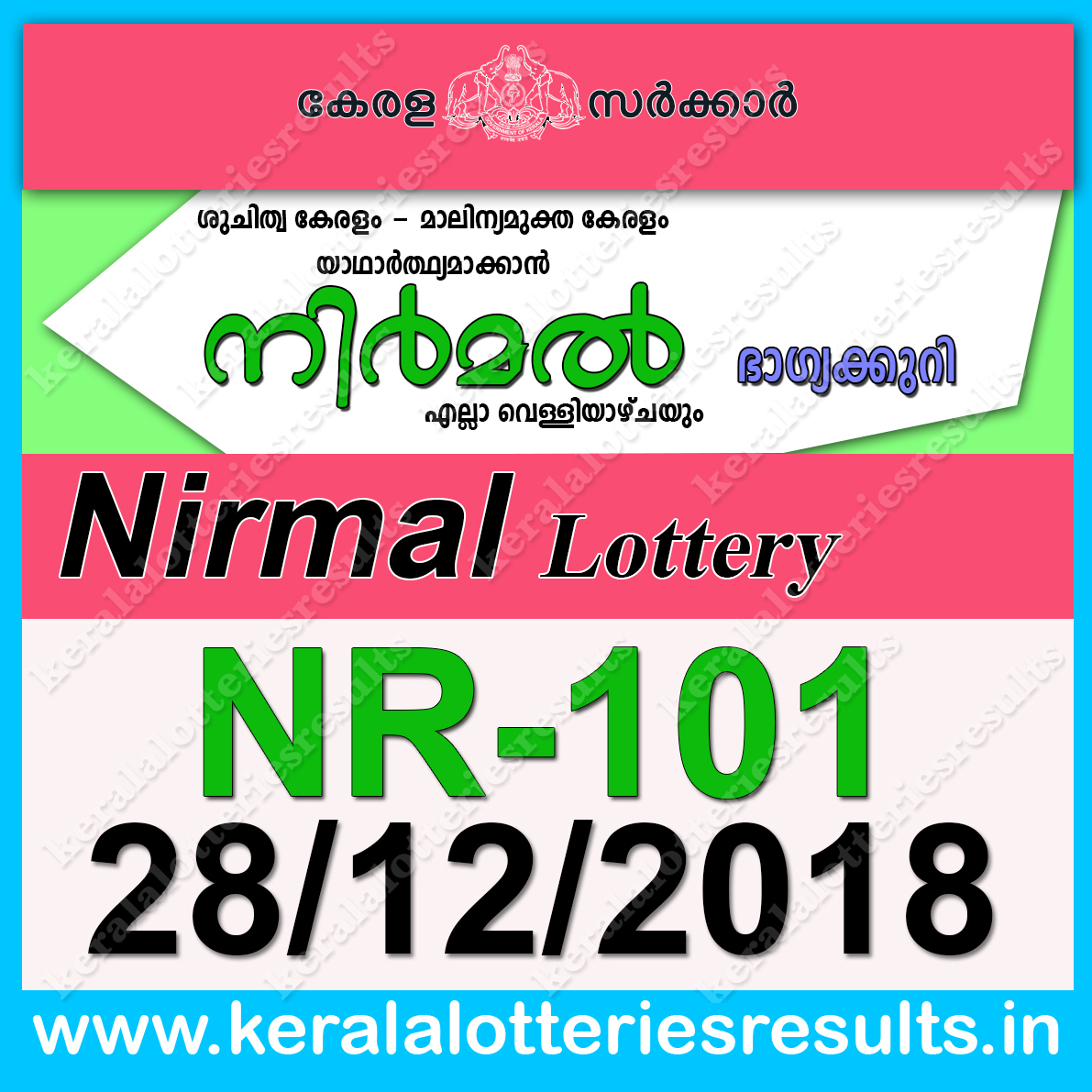 kerala lottery results today