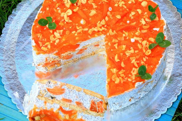 Brza-kremasta-torta-sa-kajsijama-makom