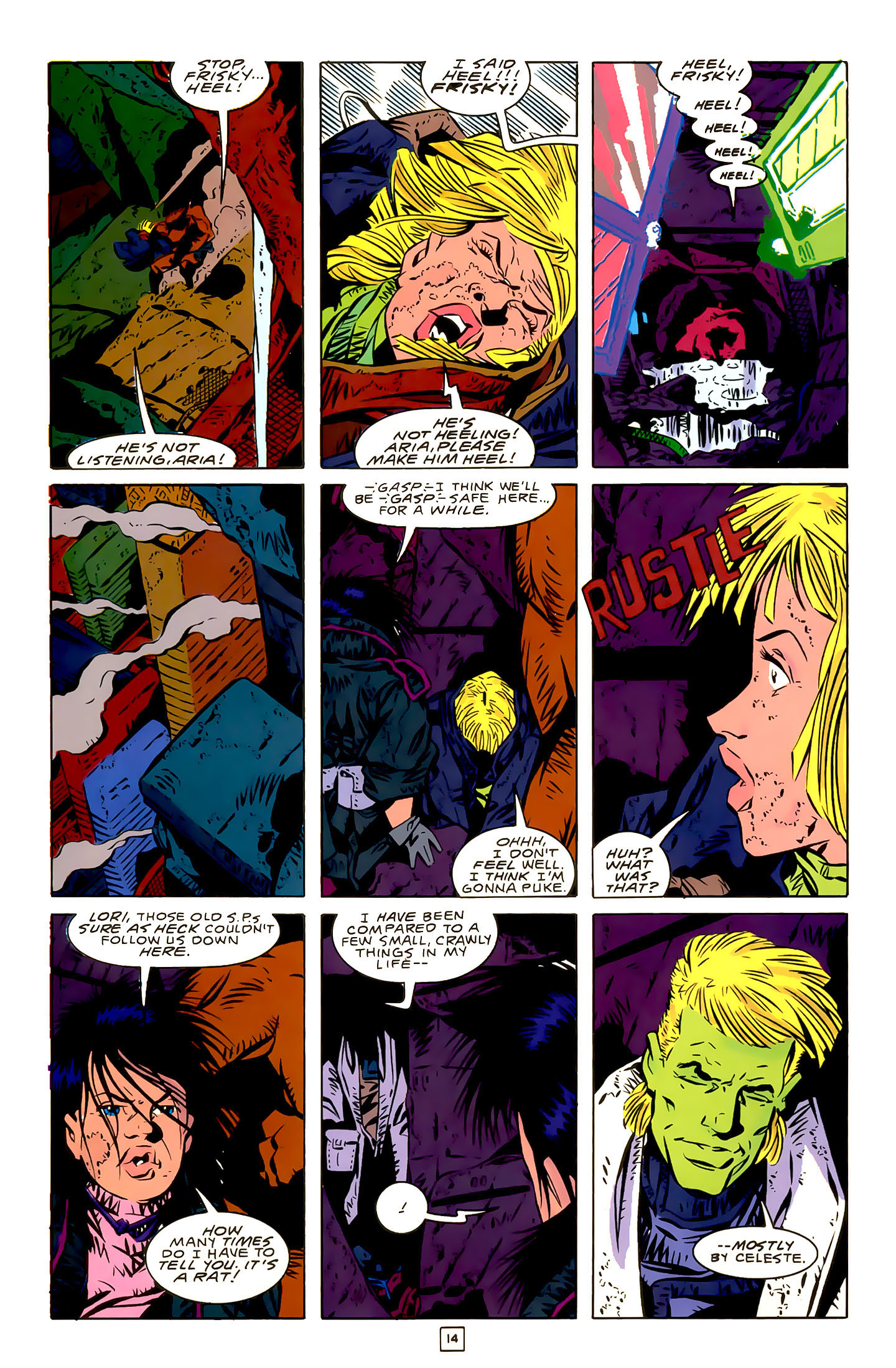 Legion of Super-Heroes (1989) 22 Page 14