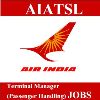 Air India Air Transport Services Limited, AIATSL, Air India, Terminal Manager, Graduation, Goa, freejobalert, Sarkari Naukri, Latest Jobs, aiatsl logo