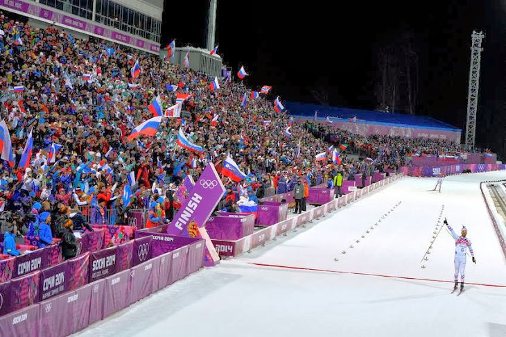 The Gold of Olympics From French Biathlete