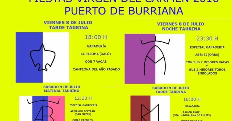 Puerto burriana virgen del carmen 2016 castell n - Puerto burriana ...