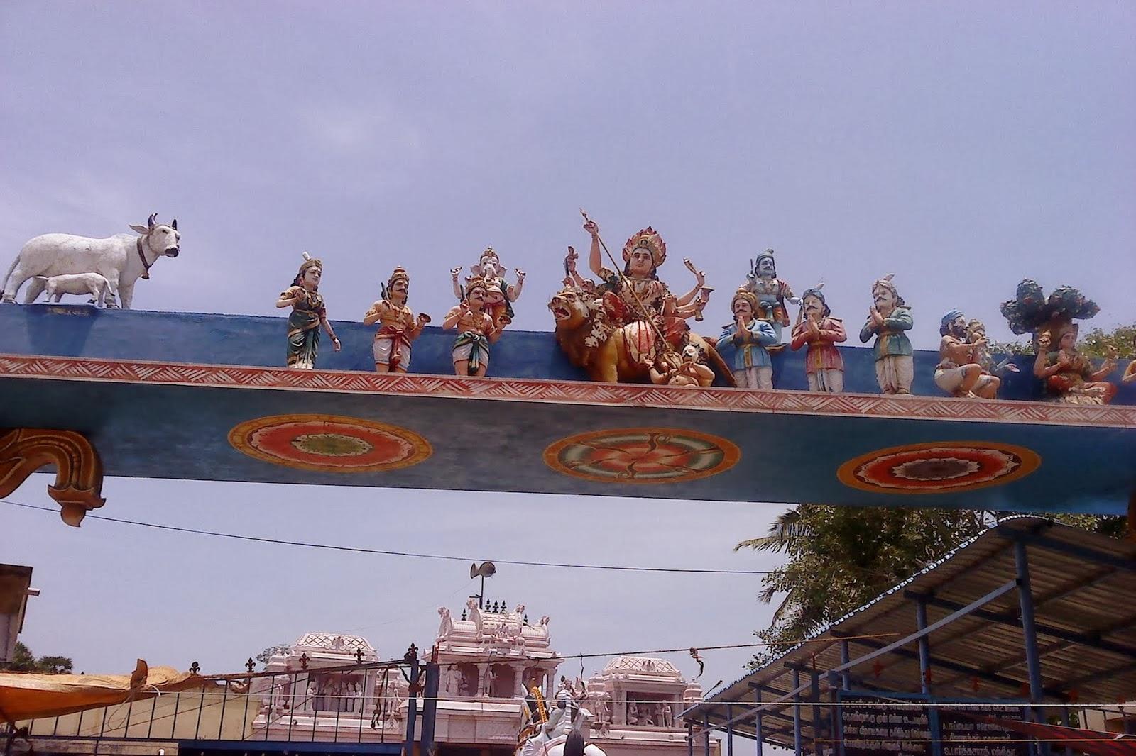 Tamilnadu Tourism: Madukkarai Chellandiamman Temple, Mayanur, Karur