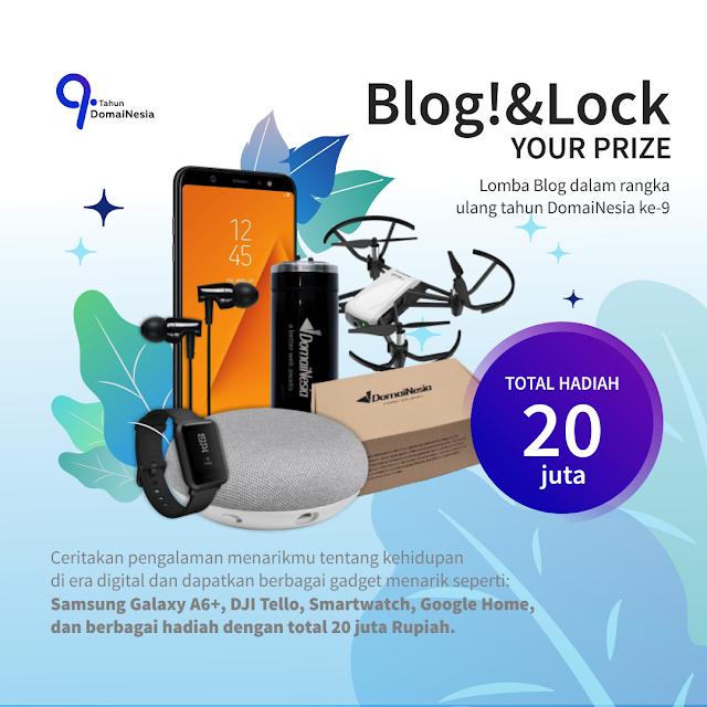 Lomba DomaiNesia Blogging Competition 2018 Gratis Umum