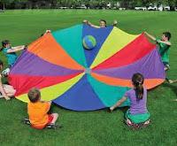 Play Parachute Games Ball Roll