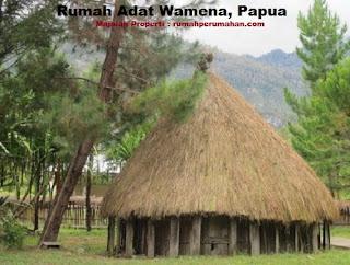 Desain Bentuk Rumah Adat Wamena dan Penjelasannya, Rumah Adat Honai