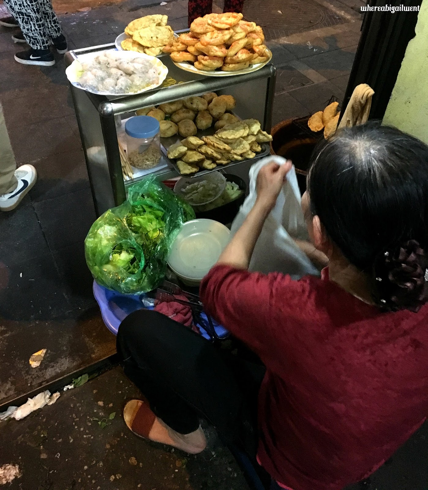 Best deep fried street food Hanoi
