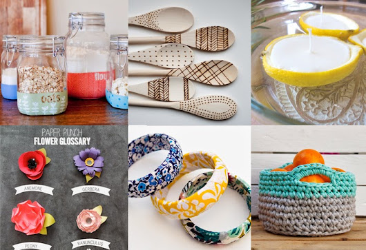 Gathering DIY projects for Easter holidays