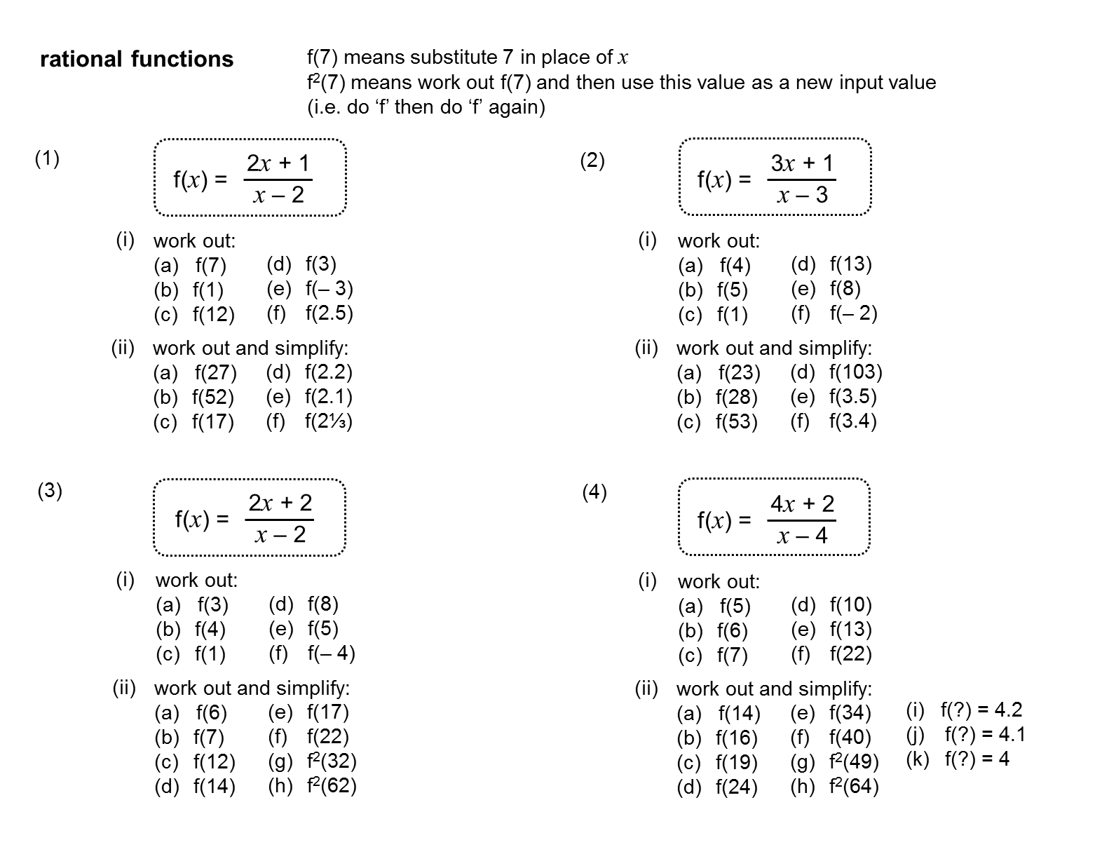 Median Don Steward Mathematics Teaching Self Inverse And