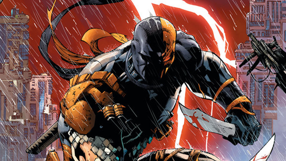 Deathstroke : Joe Manganiello Teases Solo Movie.