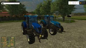 New Holland T7 tractors pack