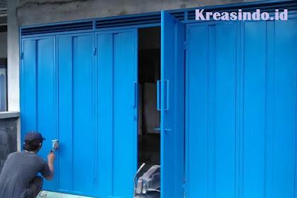 Jasa Pintu Lipat Besi di Tangerang dan Sekitarnya Harga Murah