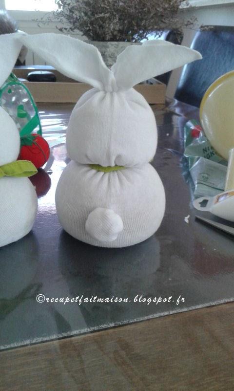 R cup et fait maison des id es r cup et d co diy fabriquer des lapins ave - Fabriquer des objets ...