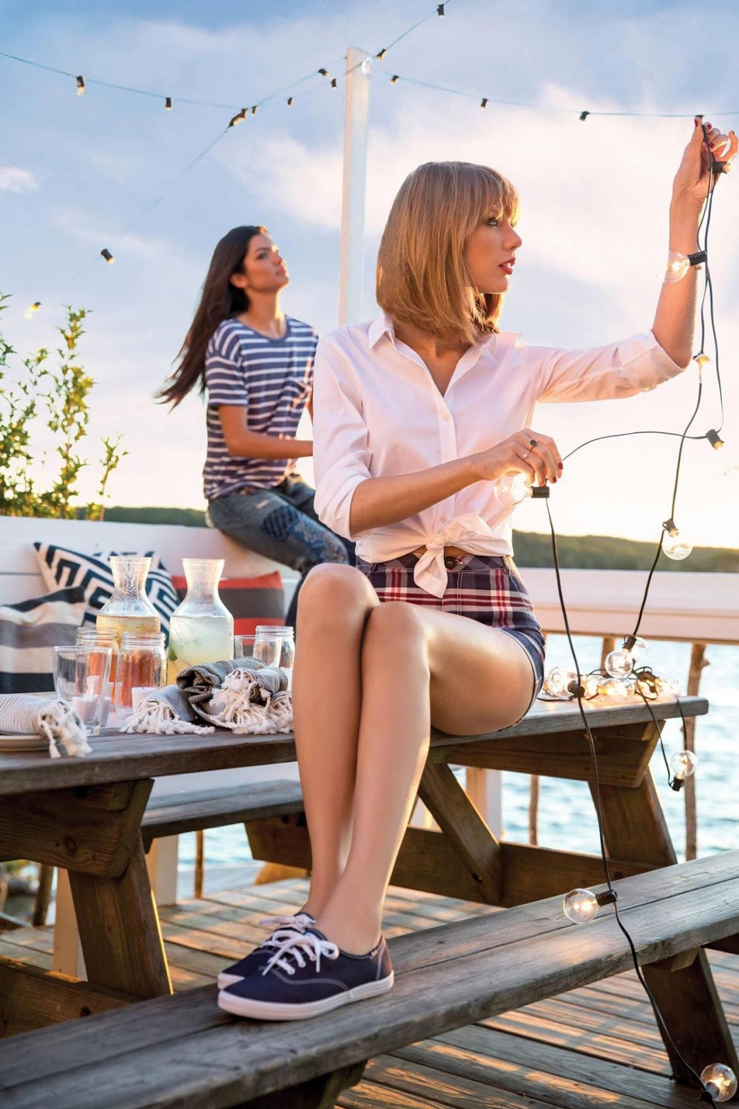 Taylor Swift – Photoshoot for Keds 2015