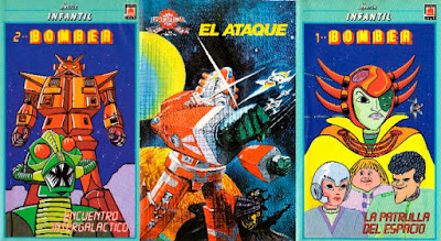Star Fleet, Bomber X, vhs, español, castellano, brian may
