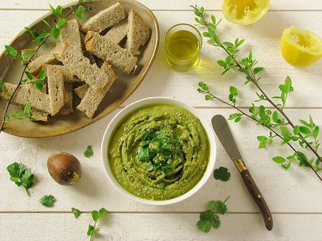 recette de houmous végétalien