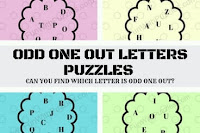 Can you find which letter is Odd One Out?