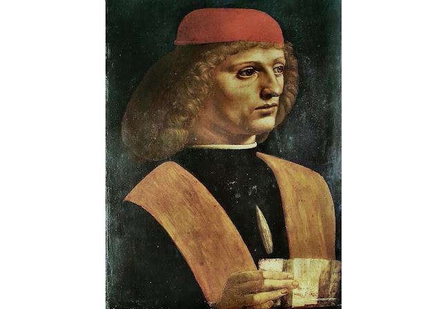 Leonardo da Vinci na Pinacoteca de Ambrosiano em Milão