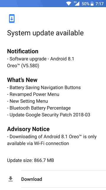 Nokia-5-receiving-stable-android-8_1-oreo-update