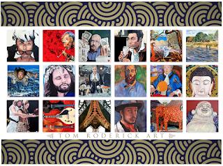 The Art of Expression by Boulder portrait artist Tom Roderick