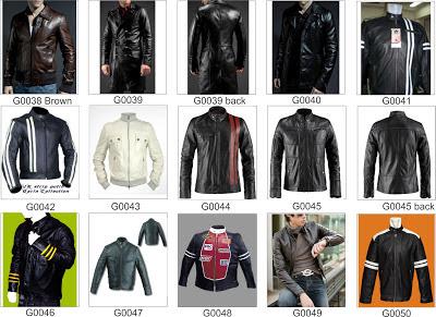 Katalog Jaket Kulit Produk Indonesia