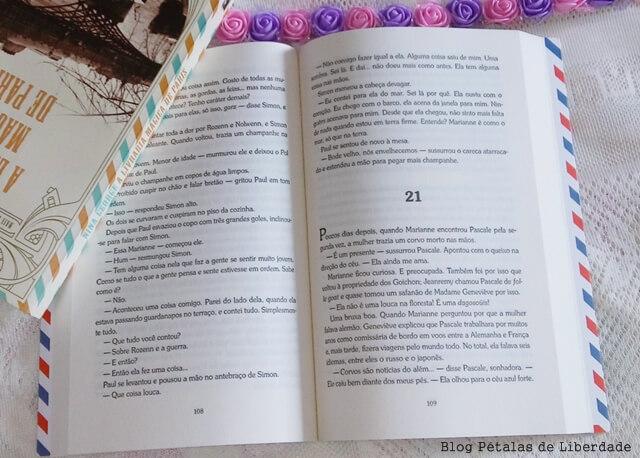 Resenha, opiniao, livro, O-maravilhoso-bistrô-francês, Nina-George, editora-record, diagramação, trecho, quote, fotos,