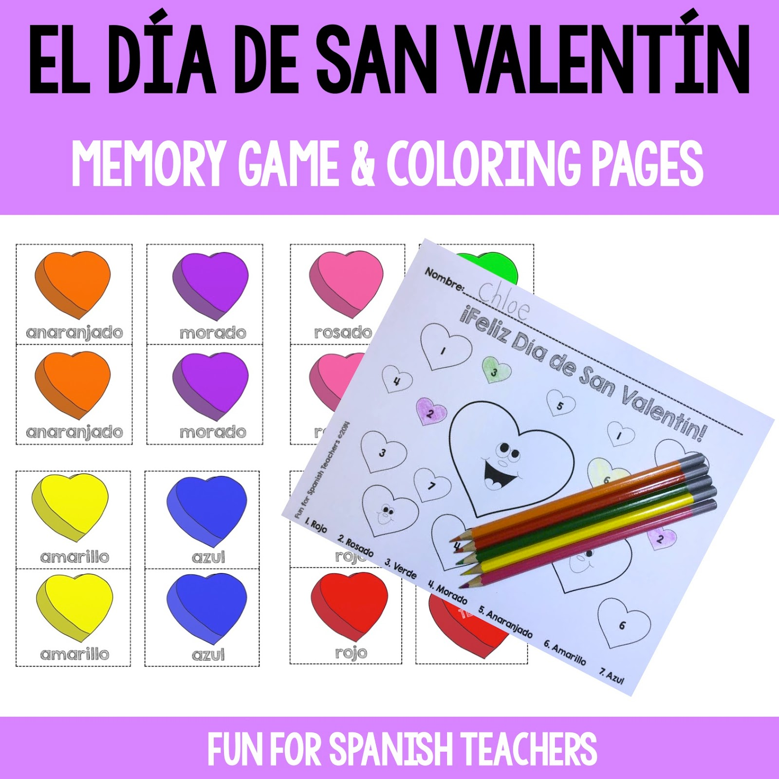 Fun For Spanish Teachers Celebrating Valentine S Day In Spanish Class