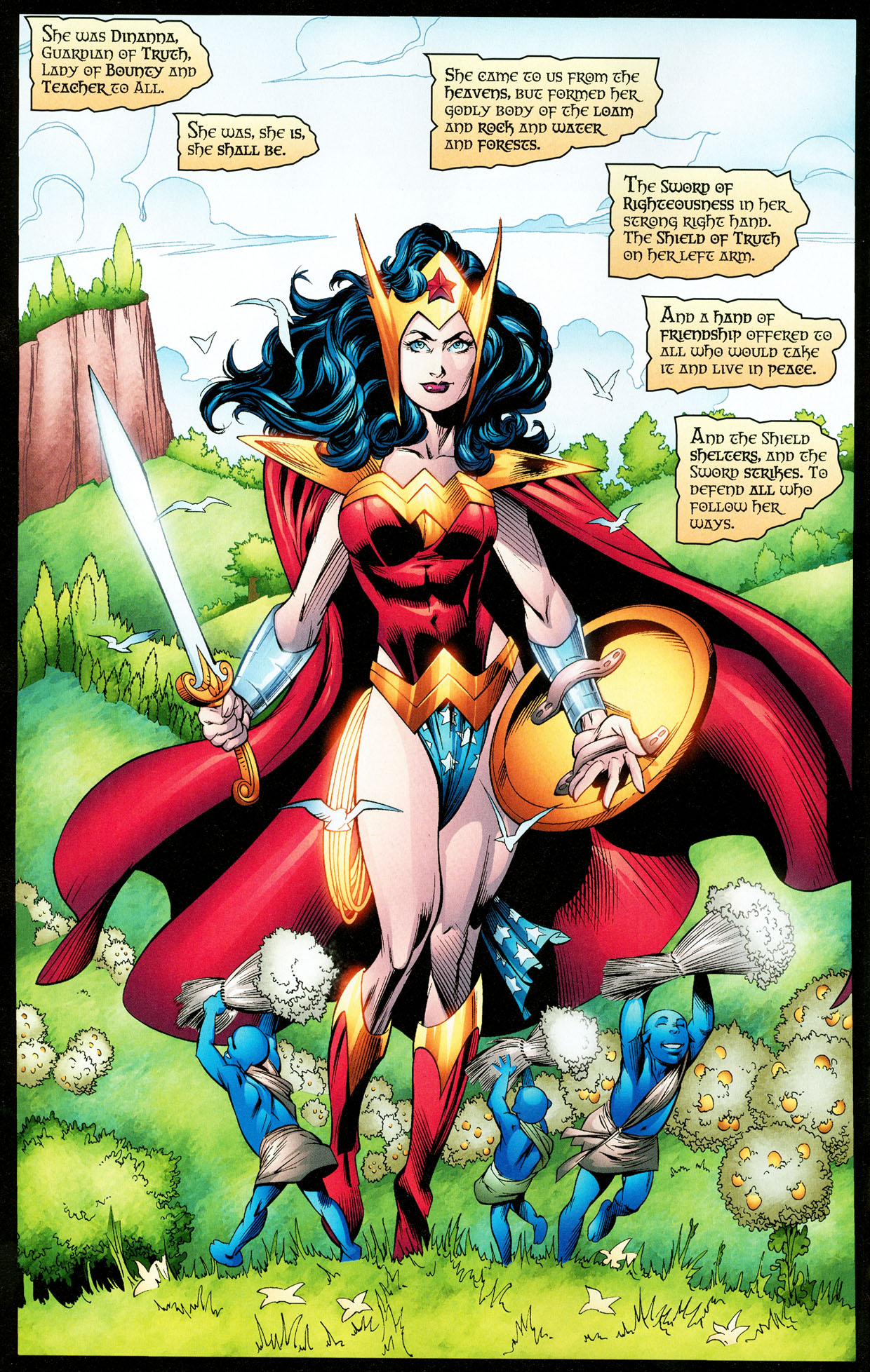 Read online Trinity (2008) comic -  Issue #32 - 13