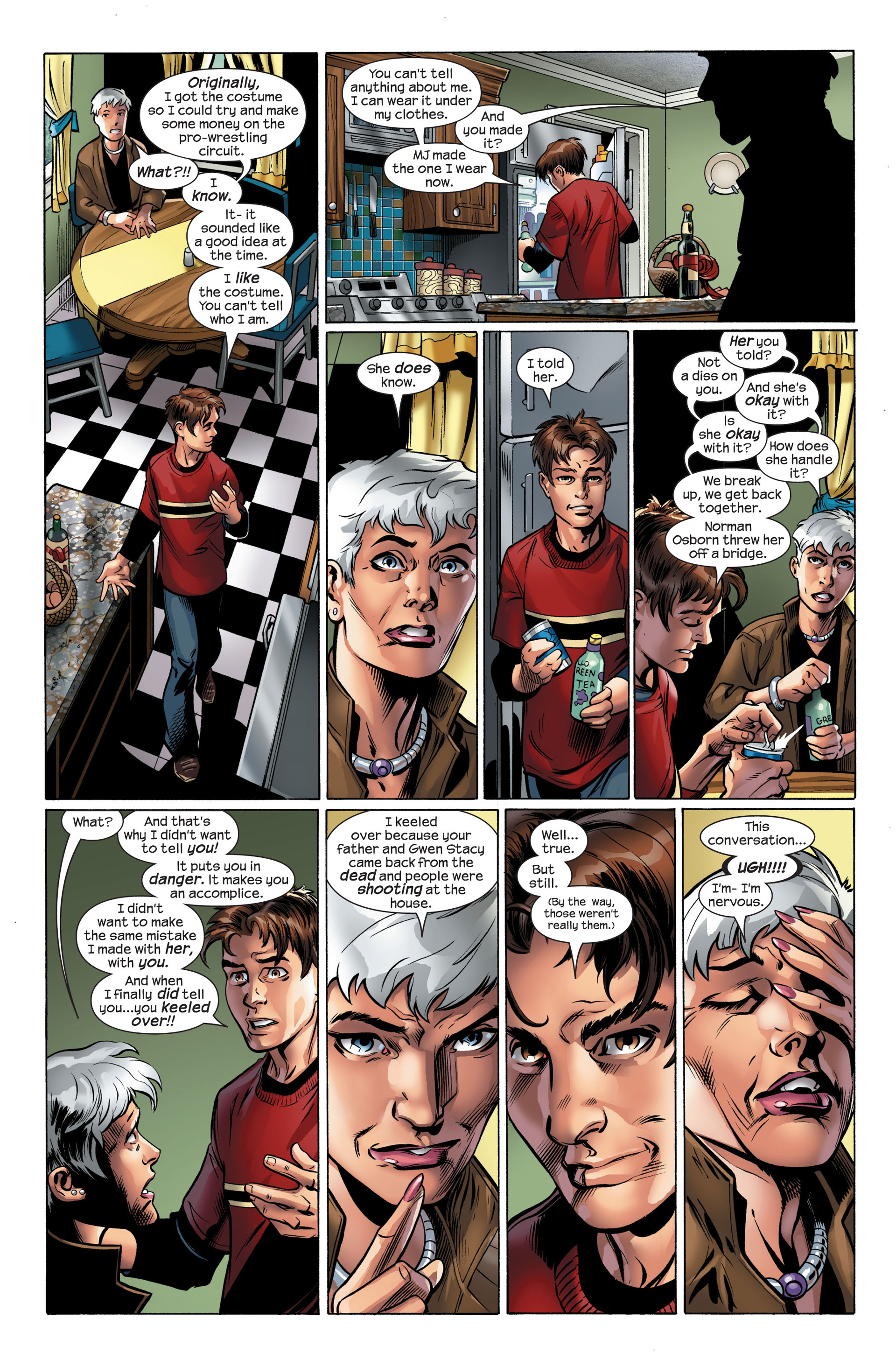 Read online Ultimate Spider-Man (2000) comic -  Issue #111 - 8