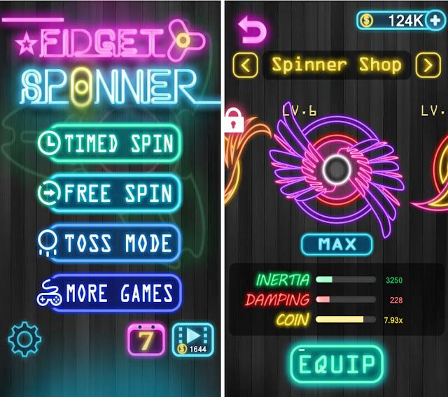 Aplikasi Game Fidget Spinner