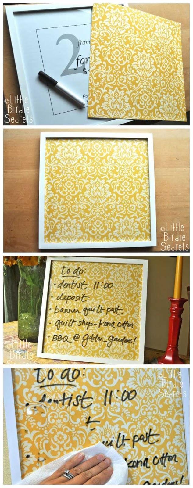 8 ideas para decorar nuestra casa hazlo tu misma - Cortar pizarra en casa ...