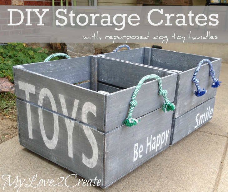 MyLove2Create DIY Storage Crates