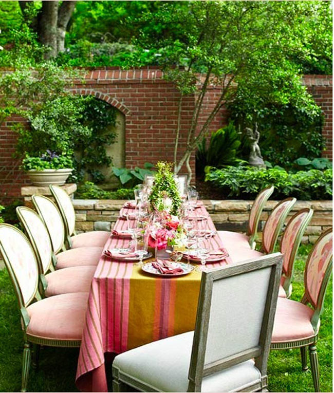 Ideas For A Relaxed, Outdoor Bridal Shower