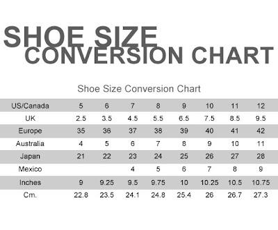 Asos Shoe Size Cm