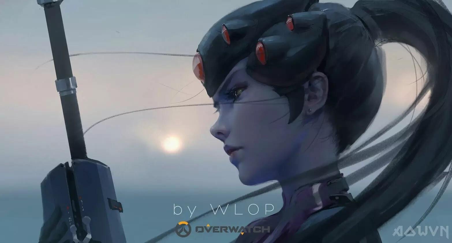 33 AowVN.org m - [ Hình Nền ] Anime Cực Đẹp by Wlop | Wallpaper Premium / Update