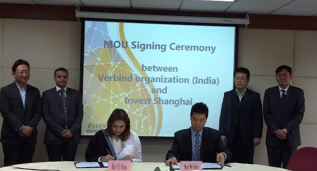 VERBIND Inks MoU With Invest Shanghai