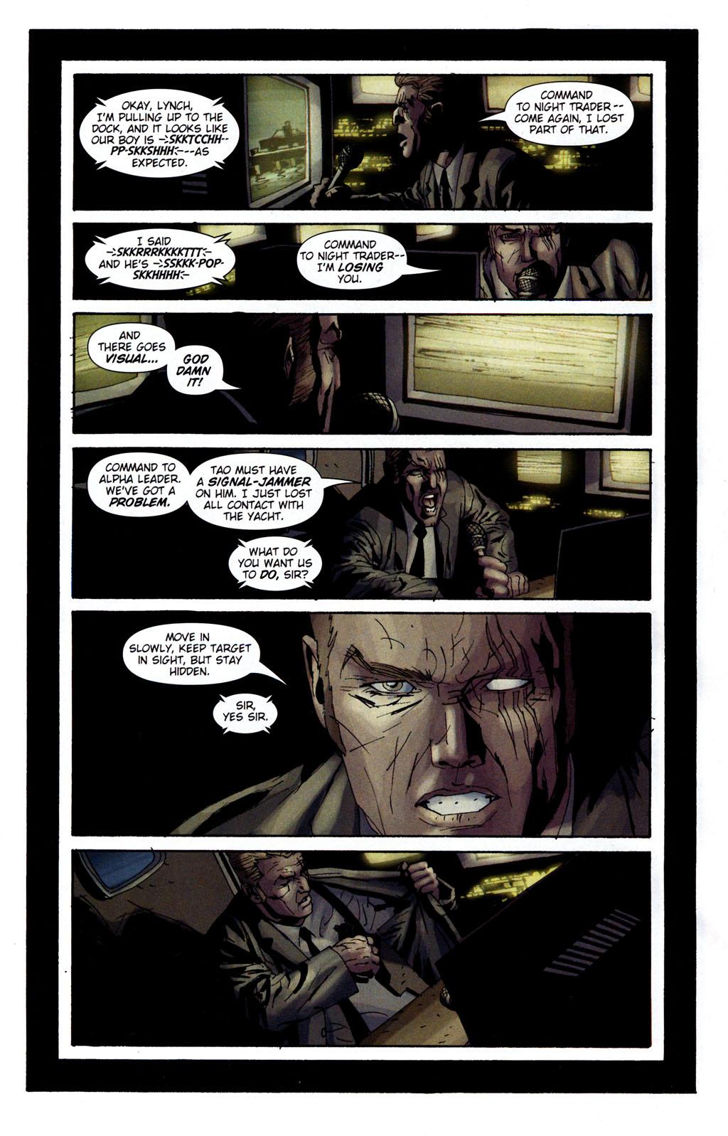 Read online Sleeper: Season Two comic -  Issue #5 - 15