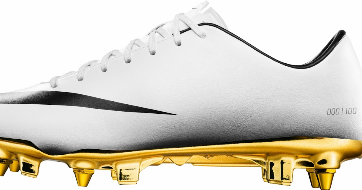 reputable site fffe0 f167a White   Gold Nike Cristiano Ronaldo 2014 Special Edition Mercurial Vapor  Boot Released - Footy Headlines