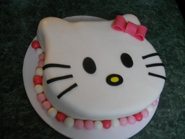 Hello Kitty Cake Template - imgUrl