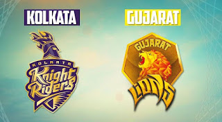 KKR vs GL Live Streaming