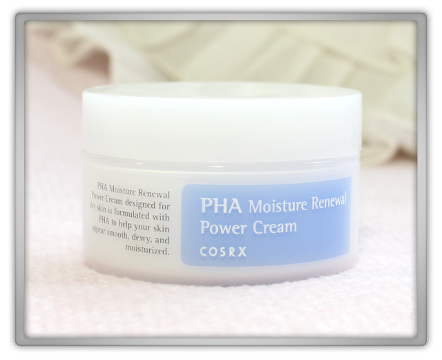 COSRX PHA Moisture Renewal Power Cream Review moisturizer Jolse Kbeauty Korean beauty blogger skincare blog 코스알엑스 파하 모이스쳐 리뉴얼 파워 크림 리뷰 스킨케어 1
