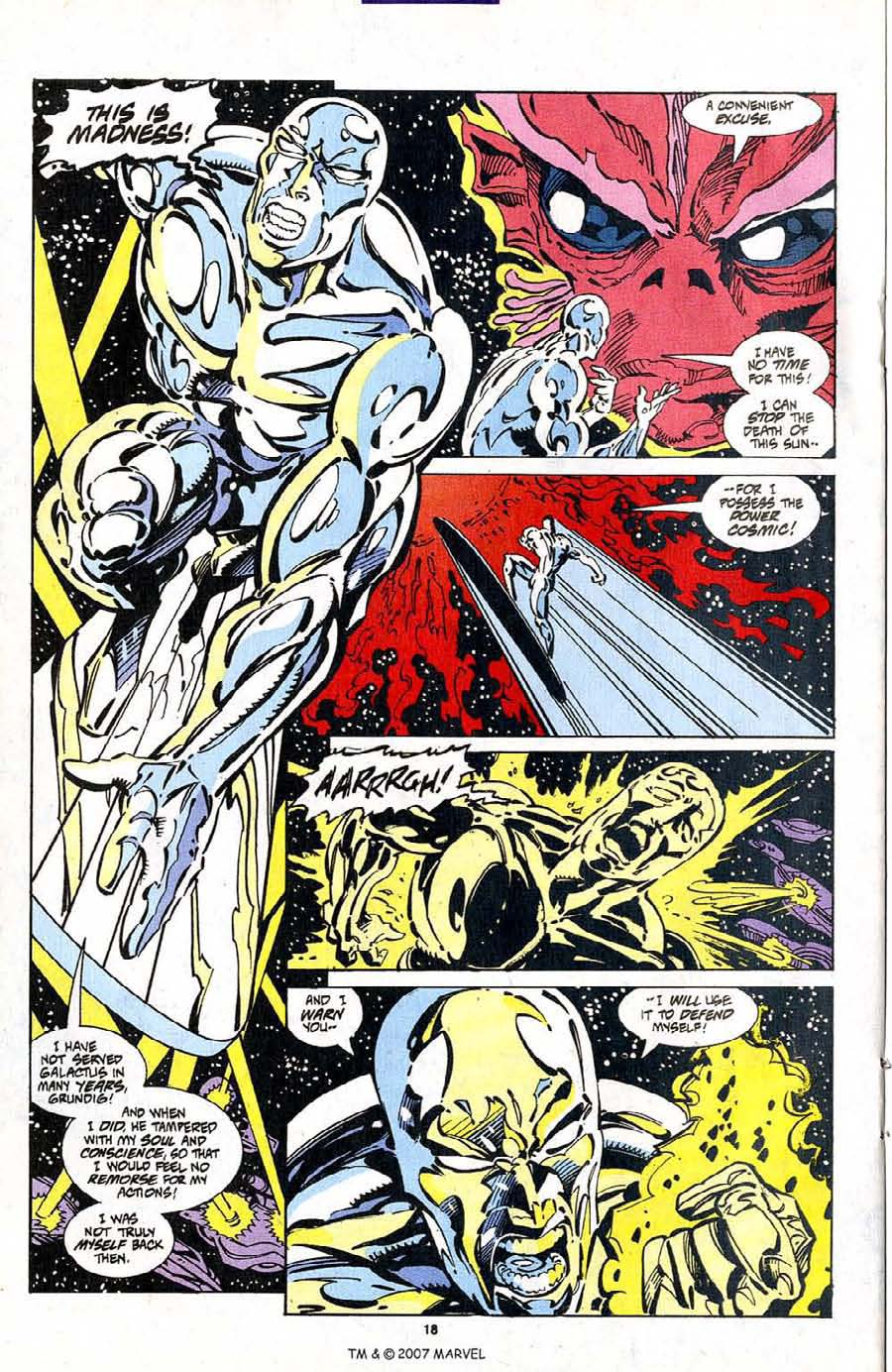 Silver Surfer (1987) Issue #103 #111 - English 20