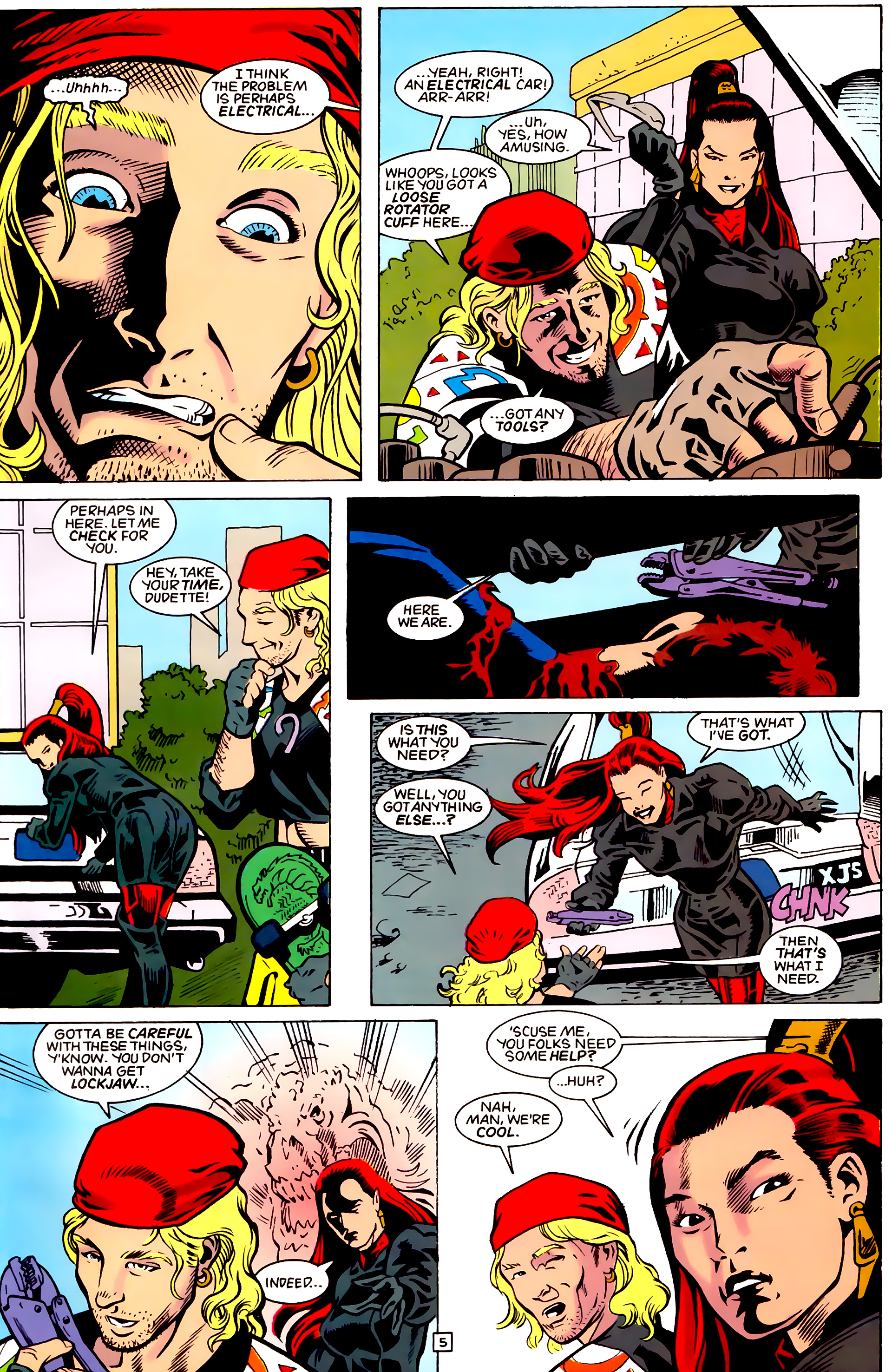 Legion of Super-Heroes (1989) _Annual_4 Page 5
