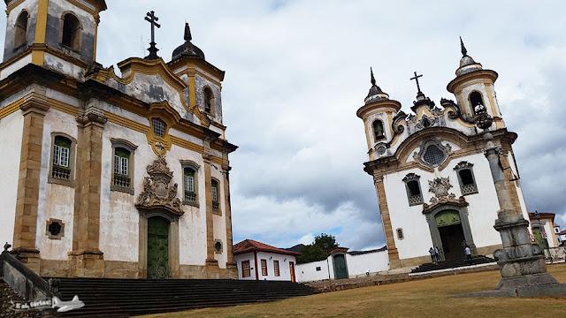 Praça Minas Gerais, Mariana, Minas Gerais.