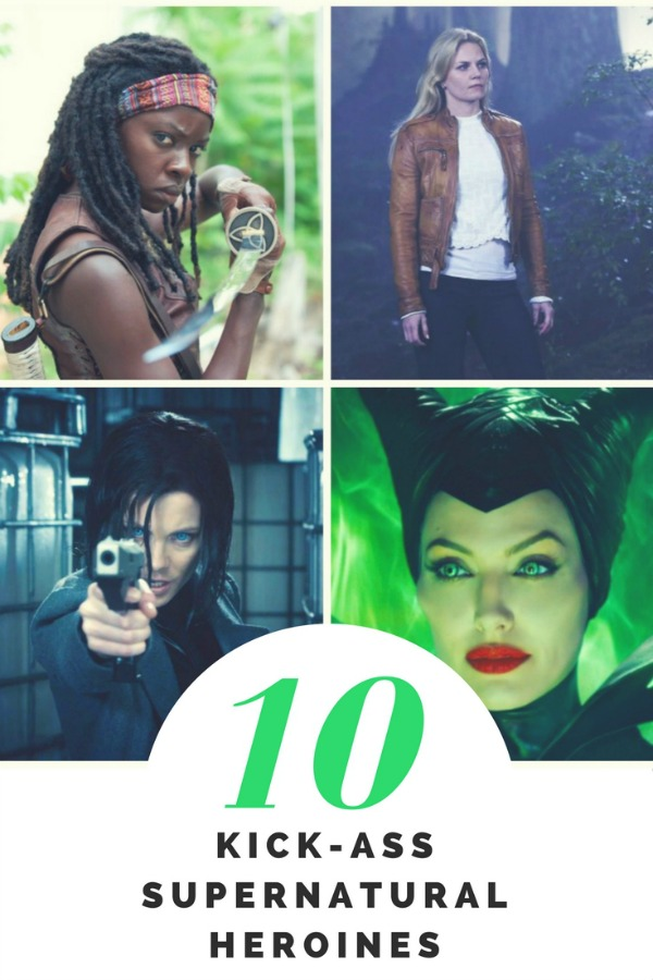 top ten kick-ass supernatural heroines