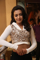 Catherine Tresa in a White Glittering Crop Top Black Leggings  Exclusive 004.JPG